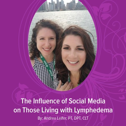 The Influence of Social Media on Those Living with Lymphedema